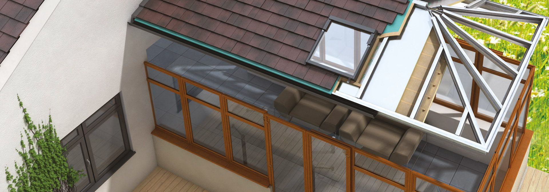 A solid conservatory roof will insulate your conservatory while improving the style, inside and out.